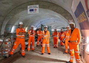 Andy Byford tours London Underground's Bank Station